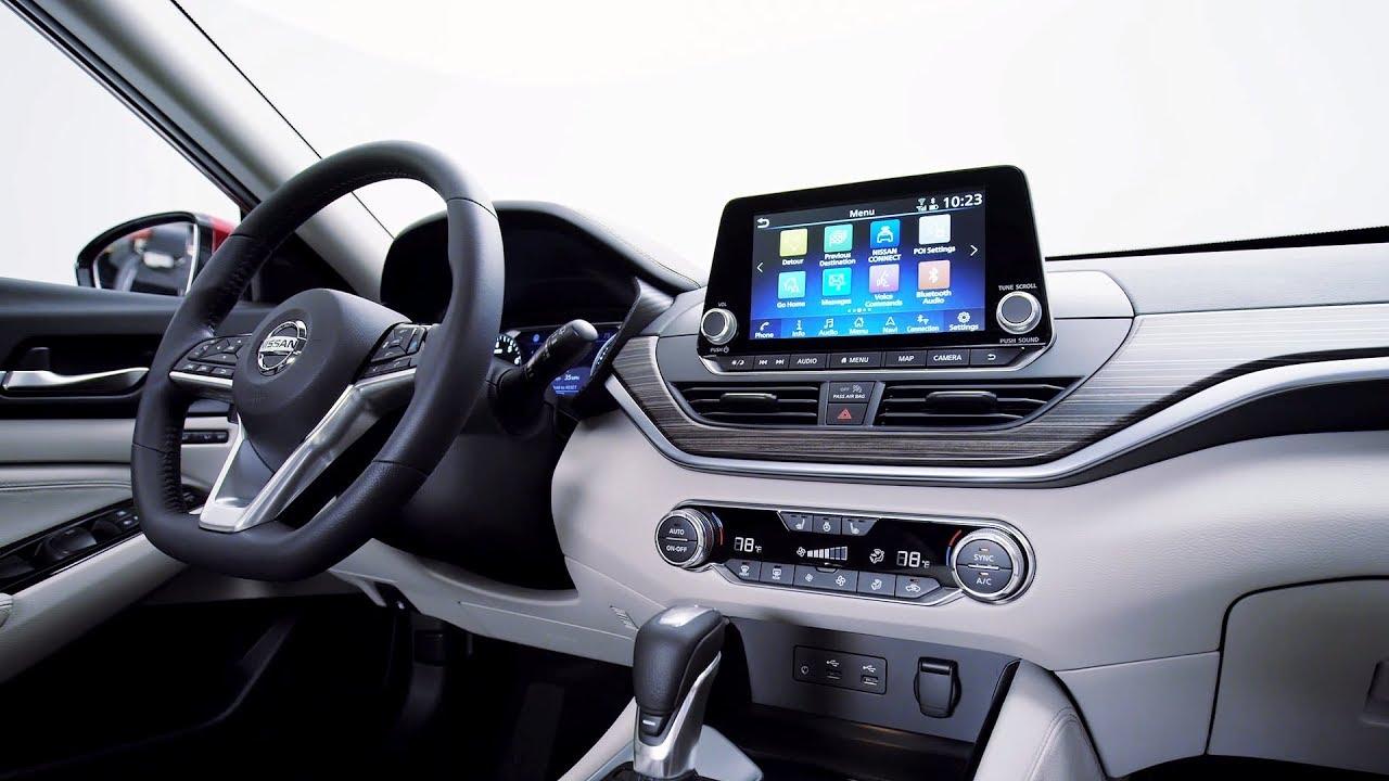 Nissan Altima Interior >> 2019 Nissan Altima Interior