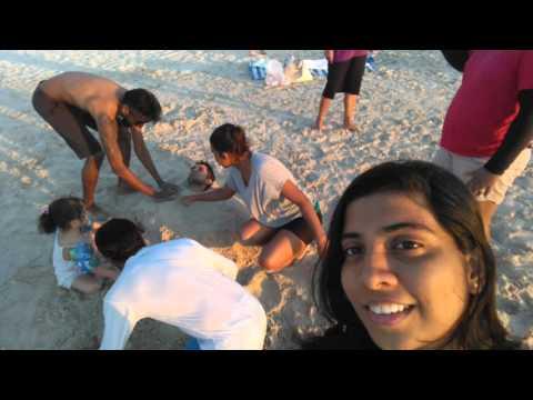 Sri Lankan fun in JBR beach