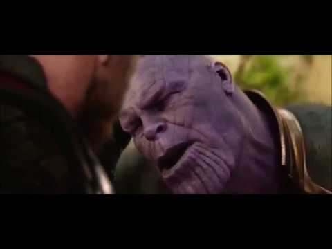 Thanos Snaps His Fingers (Avengers: Infinity War)