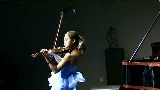 10 year old Vivian Lu playing Kreisler Praeludium and Allegro