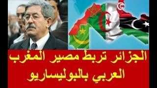الجزائر تربط مصير المغرب العربي بالبوليساريو