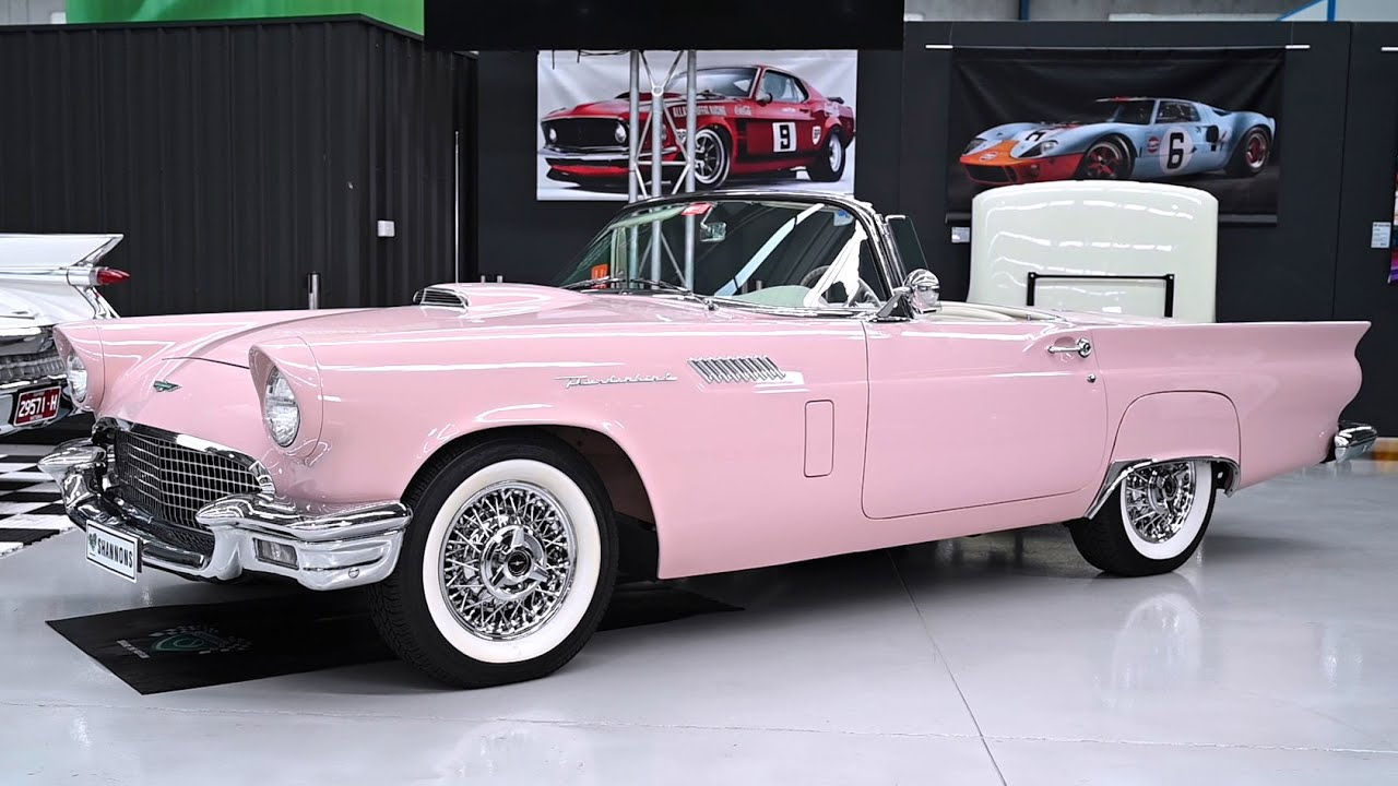 1957 Ford Thunderbird 312 V8 Convertible (LHD) - 2020 Shannons Melbourne Autumn Classic Auction