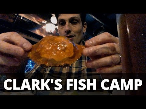 CLARK'S FISH CAMP... Unboxing On The Road