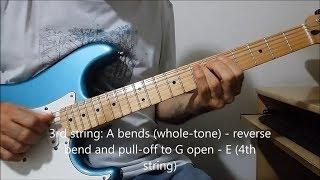250 miles (Radio Moscow) - Guitar Lesson