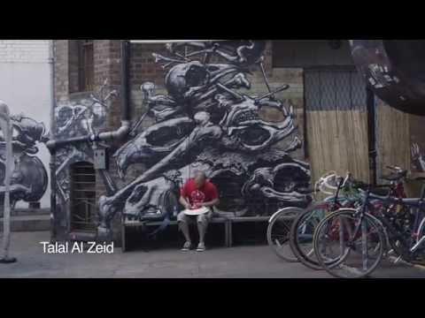 Breaking Cover - Arabic Street Art in London