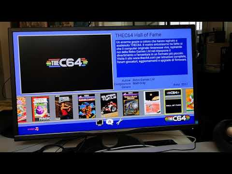 The C64 Mini: unboxing e video del primo contatto con il