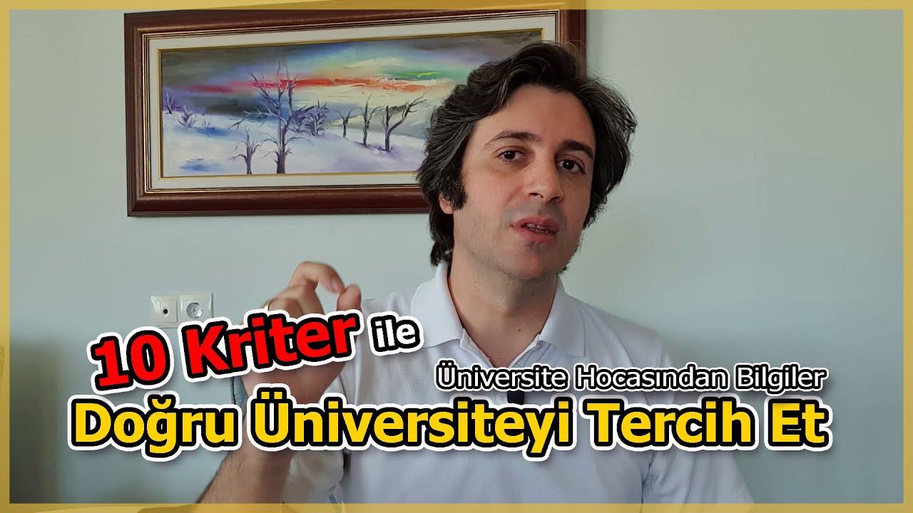 10 Dakikada 10 Kriter ile En İyi Üniversite Tercihini Belirle