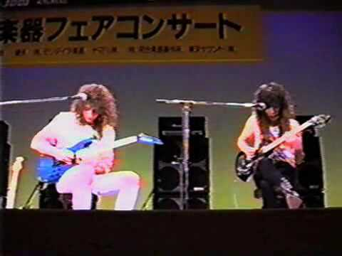Jason Becker and Marty Friedman - Concerto (Japan1989) Guitar Clinic