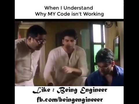 When You Understand why your Code was not working - Being Engineer