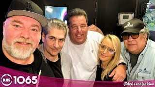 The Loosest Sopranos Interview EVER! KIIS1065, Kyle & Jackie O