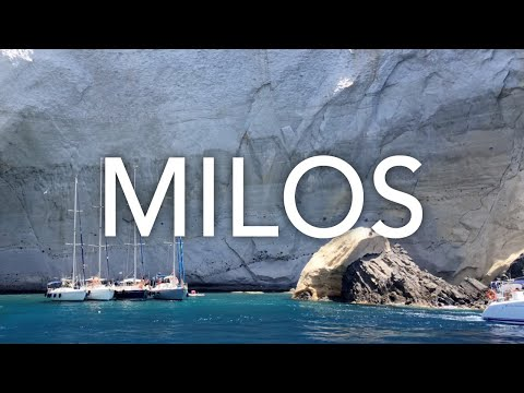 Milos Trip 2018 - Summer in Greece - Travel Video - 4K