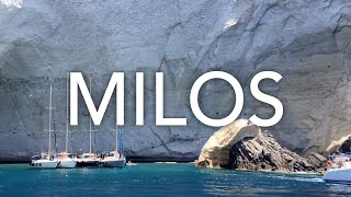 Milos Trip 2018 - Summer in Greece - Travel Video - 4K
