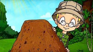 Развивающий мультфильм для детей - Профессор Почемушкин –Зачем нужны муравейники?