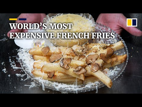 New York restaurant serves world's most expensive French fries at US$200