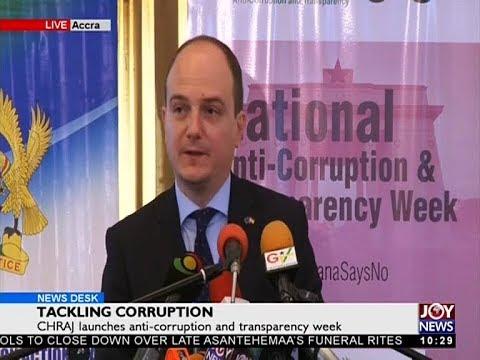 Tackling Corruption - News Desk on JoyNews (4-12-17)