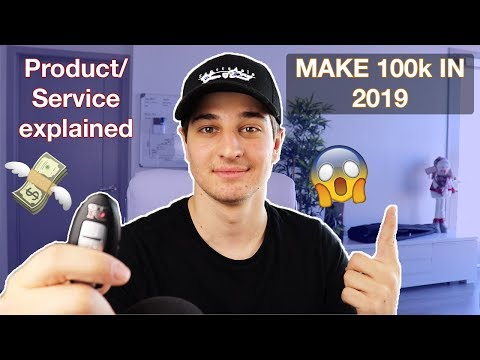 How To Make 100k Online In 2019 (Product/Service) - Shopify Dropshipping