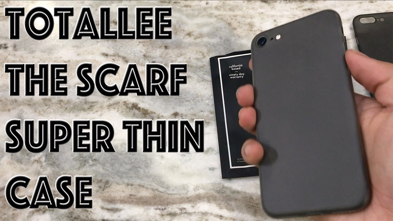 more photos 438f2 aadfe iPhone 7 Totallee | The Scarf | Super Thin Case Review