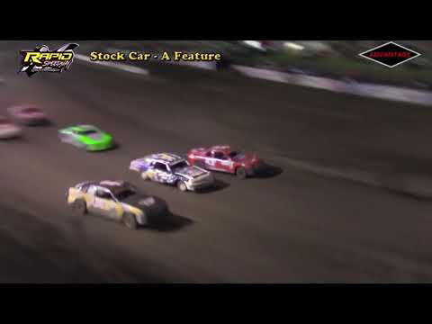 Stock Car Feature - Rapid Speedway - 5/18/18