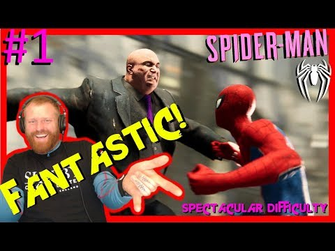 THIS GAME IS FANTASTIC! SPIDERMAN. SPECTACULAR DIFFICULTY
