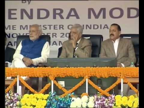 Inauguration of Hydro Power Project in Jammu & Kashmir by PM