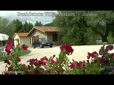 Residence Villa Mozart a Gubbio in Umbria agriturismo .wmv