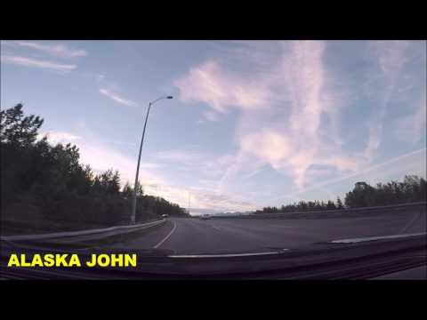 ALASKA DRIVING - Anchorage to Eagle River - July 30th 2017