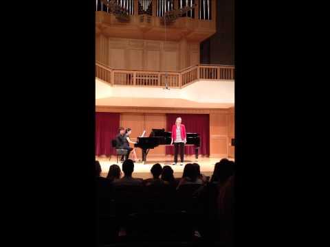 Se Tu Ma'mi Performed by Margaret Jones