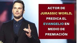 Actor de Jurassic World, Predica el Evangelio en Medio de Premiación. Chris Pratt