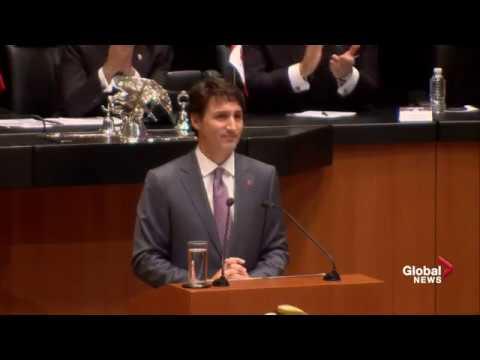 Prime Minister Trudeau address to Mexico's Senate of the Republic