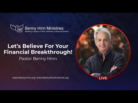 Let's Believe For Your Financial Breakthrough!