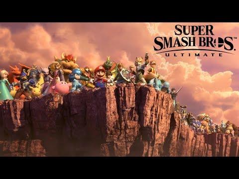 Reaccionando al Super Smash Bros Ultimate Direct 01/11/2018