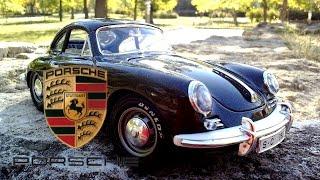 Машинки для детей Порше Porsche 356.  Классические автомобили