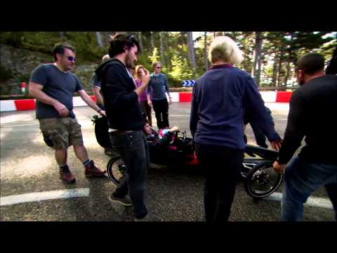 World's fastest Gravity Racer record attempt: Speed With Guy Martin - S02E04