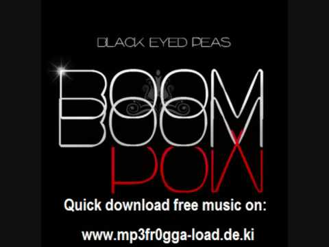 The black eyed peas boom boom pow (lum! X bootleg) by lum! X.