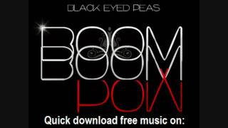 Black Eyed Peas - Boom Boom Pow - presented by MP3-frogga