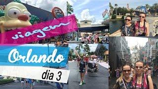 Vlog de Orlando - Dia 3 | Universal Studios e Super Target