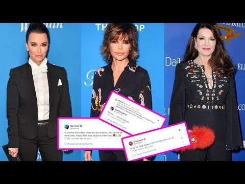 Kyle Richards Claps Back at Fan Who Accuses Her of Being Jealous of Lisa Vanderpump as Lisa Rinna...