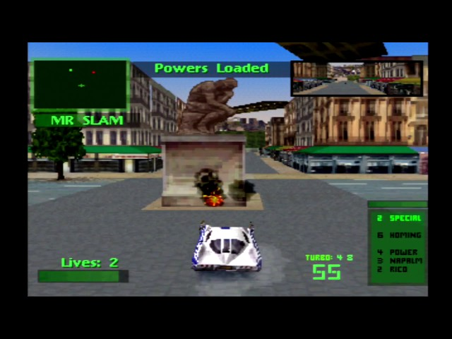 Twisted Metal 2 Spectre Tournament Playthrough HD