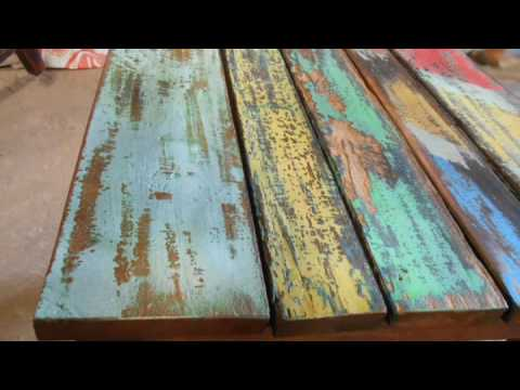 Reclaimed Boat Furniture Collection