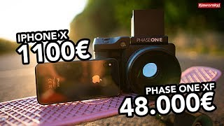 IPHONE X vs PHASE ONE XF 📷Can you see the difference?