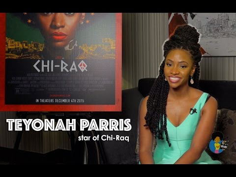 Teyonah Parris - Star of Spike Lee's CHI-RAQ