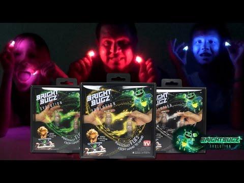 Bright Bugz Will Glow Your Mind! Bright Bugz Tricks and FUN!