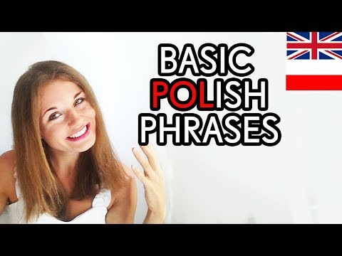 🇵🇱🇬🇧Learn Polish #7 - BASIC POLISH PHRASES / PODSTAWOWE ZWRO