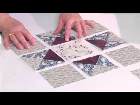 From the Sizzix Quilting Workshop: Variable Star Block