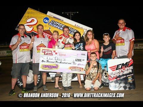 Nebraska 360 Sprints Junction Motor Speedway 06.11.16