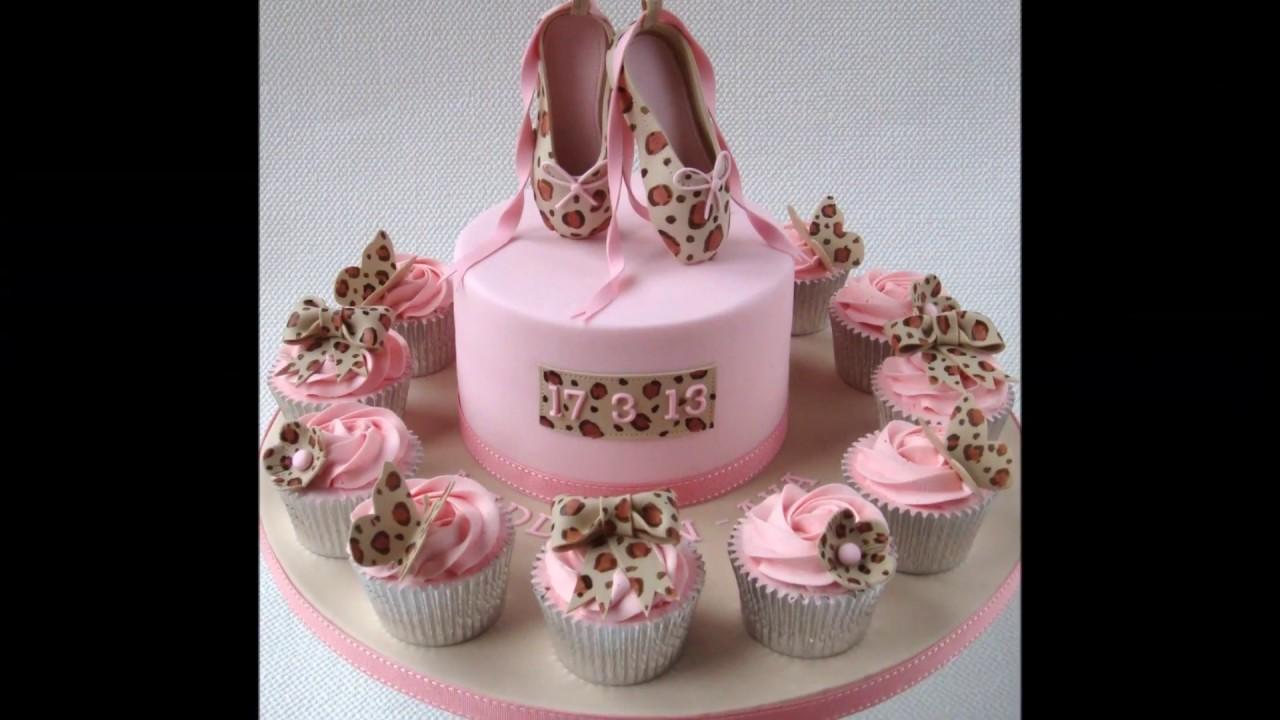 Baby shower cake ideas for girls