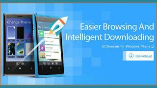 ▷ UC Browser for Windows Phone【Latest Version】