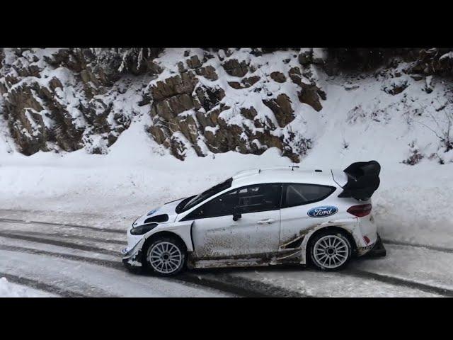 6 98 Mb Ford Fiesta Wrc Rallye Monte Carlo 2018 Tests