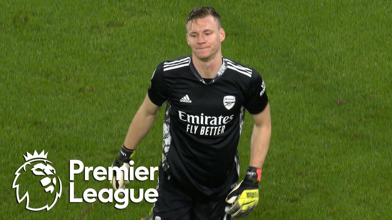 Download Bernd Leno sent off for intentional handball against Wolves | Premier League | NBC Sports