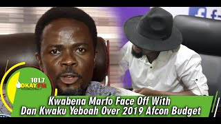 Download Kwabena Marfo Face Off With Dan Kwaku Yeboah Over 2019 Afcon Budget Mp3 and Videos